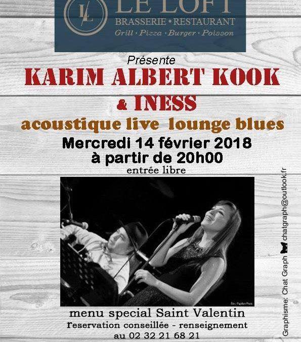 Concert de Karim Albert Kook & Iness
