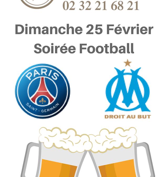 Dimanche 25/02 : match PSG – OM