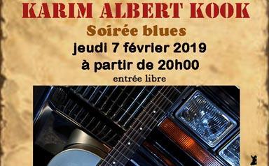 Karim Albert Kook en concert au Loft – Le jeudi 7 février 2019