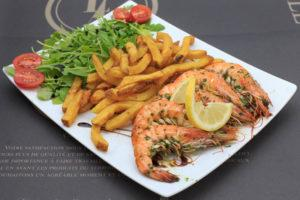 gambas grillee