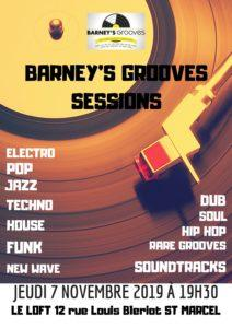 Barney's Grooves Sessions