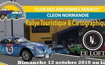 Le loft reçoit le club des anciennes Renault à St Marcel le dimanche 13 octobre