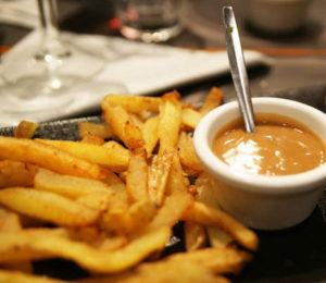 frites cheddar