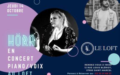 Höra en Concert – JEUDI 14 OCTOBRE À 19:30 au Loft
